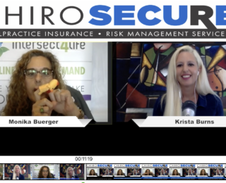 ChiroSecure's Look to the Children wth Monika Berger and Krista Burns